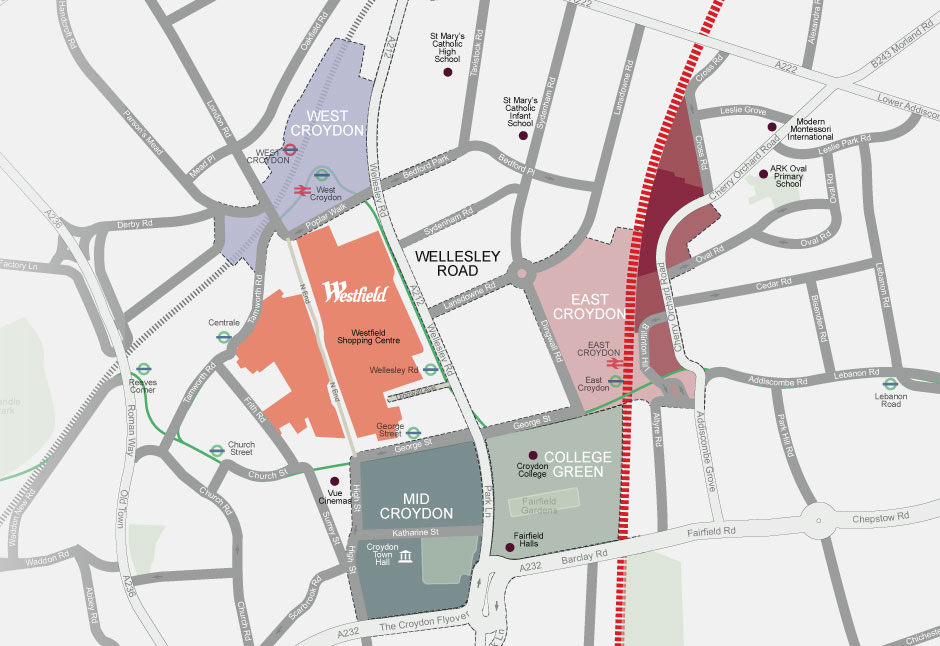 Menta Projects East Croydon Masterplan Regeneration